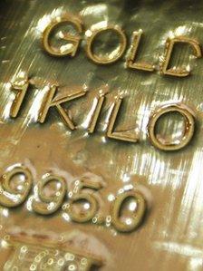 One kilogram bar gold bullion