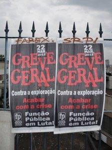 Poster for general strike