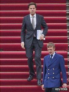 Dutch PM Mark Rutte (23 March 2012)