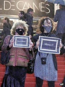 Cannes Festival protest