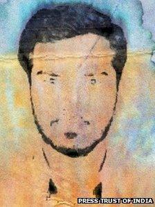"""Ansari is being described as the """"handler"""" of the 10 gunmen"""