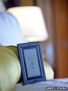 Gideon Bible on e reader