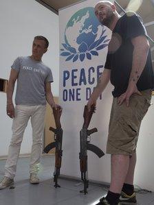 Jeremy Gilley and Jake Chapman