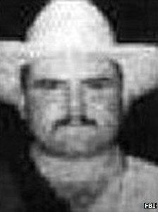 File photo of Jorge Eduardo Costilla Sanchez on the FBI website