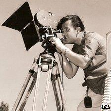 Stanley Long shooting Nudes of the World in 1961