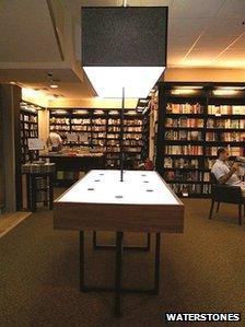 Kindle display unit