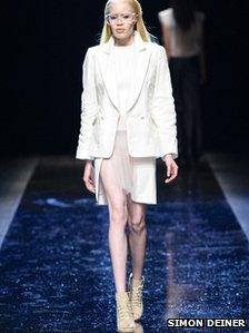US supermodel Diandra Forrest