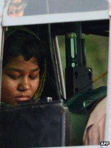 Rimsha Masih on her release from detention in September