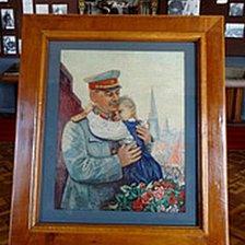 Stalin painting in Gori museum