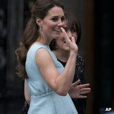 The Duchess of Cambridge at a charity at the National Portrait Gallery in London