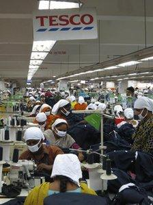 Bangladesh factory workers