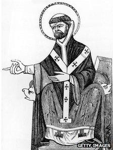Benedictine monk and first Archbishop of Canterbury, St Augustine of Canterbury (died 604)