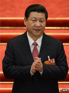 File photo: Chinese President Xi Jinping