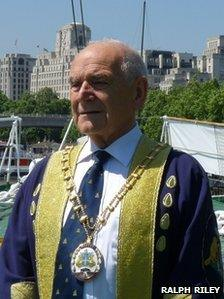 Ivor Richards, Master of the Worshipful Company of Water Conservators
