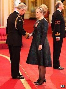 Prince Charles and Adele
