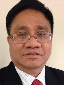 Dr Kyaw Naing- Pro-Rector of the University of Yangon