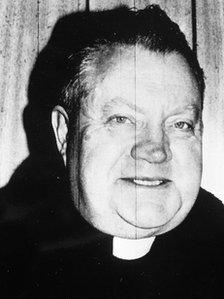 Fr Brendan Smyth before child abuse charges were brought