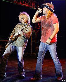 CC DeVille and Bret Michaels