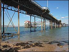 Mumbles pier - photo by Stephen Gallagher
