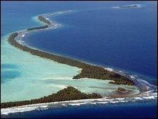 Funafuti island