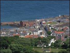 North Berwick. Pic courtsey of Undiscovered Scotland