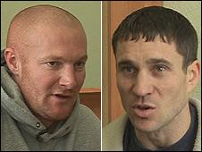 Matthew Neale (left) and David Birkenshaw