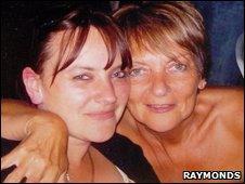 Melissa Procter-Blaine and mum Diane