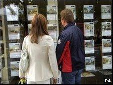 Generic estate agent window