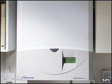 A Worcester-Bosch combi boiler
