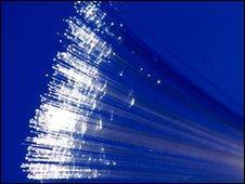 Fibre optic cable (file image)