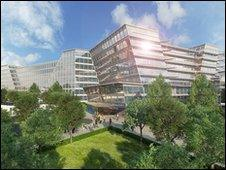 Artist's impression of new Royal Liverpool