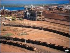 Iron ore mine, Australia