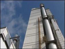 Hanson cement works at Padeswood, Flintshire