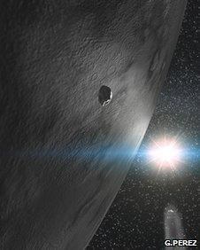 Asteroid Themis has 'frosted surface'