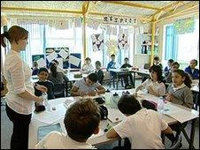 Classroom at Hounslow Town Primary School