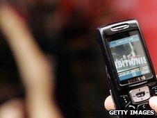 Camera phone, Getty