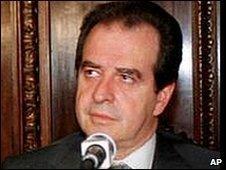 Jose Luis Machinea in October 2000