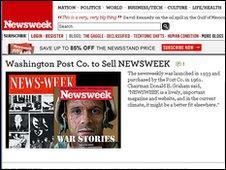 Newsweek website