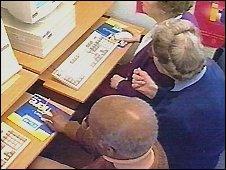 older people on computers