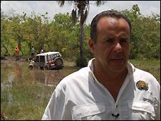 Race director, Juan Ignacio Parra.