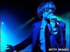Jarvis Cocker on stage