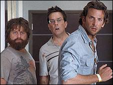 A scene from The Hangover
