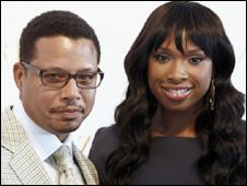 Jennifer Hudson and Terrence Howard in Cannes