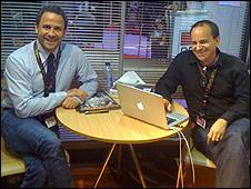David Rimawi (l) and Paul Bales of Asylum