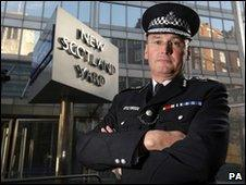 Sir Paul Stephenson, Metropolitan Police Commissioner