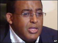 Prime Minister Omar Abdi-Rashid Sharmarke