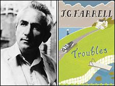 JG Farrell and his winning book Troubles