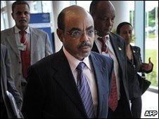 Meles Zenawi, file image