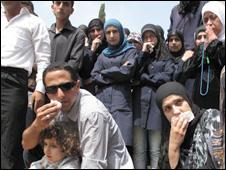 A crowd in Ketermaya