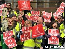 BA workers on strike in March